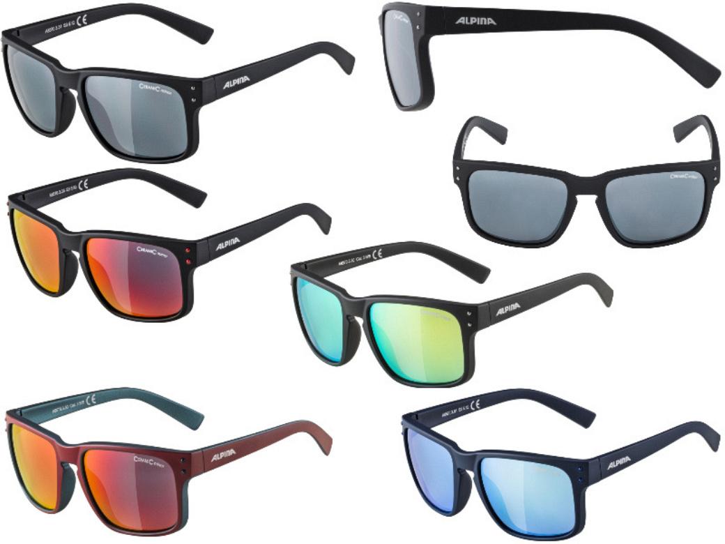 Alpina Lifestyle Fahrradbrille Sonnenbrille KACEY in 5 Farben