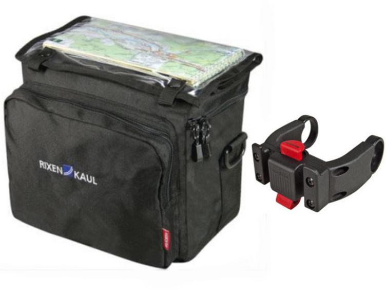 rixen kaul klickfix lenkertasche daypack box incl e bike adapter ebay. Black Bedroom Furniture Sets. Home Design Ideas
