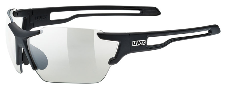 502a112bfe0fe9 Uvex Fahrradbrille Sportbrille sportstyle 803 V Vario black